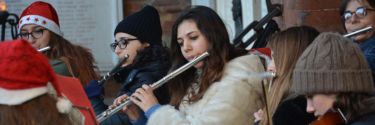 Sezione flauti