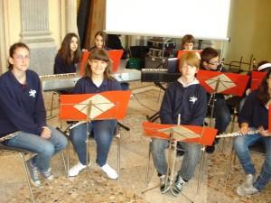 Sezione flauti Villa Reale Monza 2010