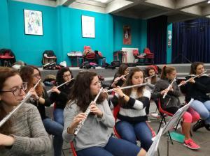 Sezione flauti 2017